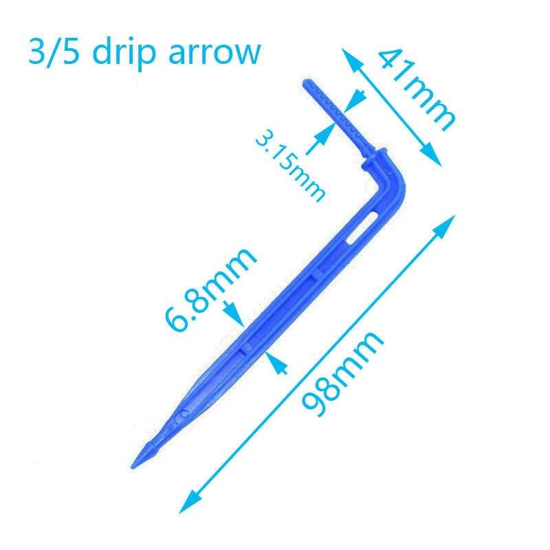 نظام ضخ السهم بالتنقيط 8L نظام ضخ 4-طريقة السهم بالتنقيط نظام الري الدفيئة قطرة الماء حديقة 10 مجموعة 15 مجموعة