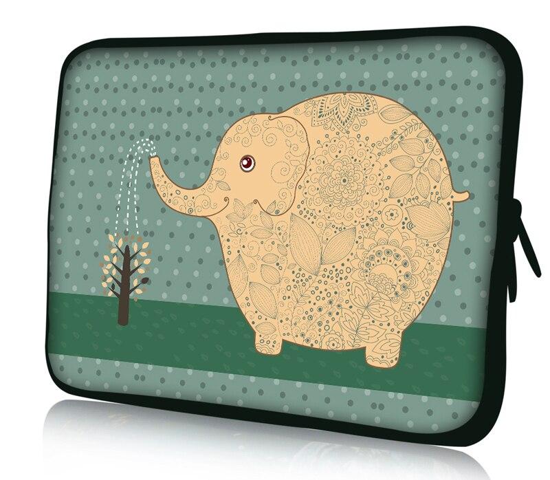 """Elephant 12"""" Neoprene Soft Laptop Netbook Sleeve Case Bag Cover For 11.6"""" Dell alienware m11x"""