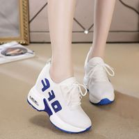 2019 New Autumn & Winter Net Red Sneaker Female Korean Version of Breathable Sports Casual Shoes with Increased Womens Sneakers