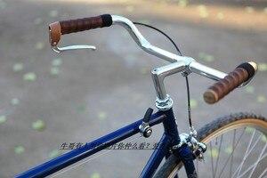 Image 4 - Volante clásico de aluminio para bicicleta, manillar retro para bicicleta, piezas para bicicleta CSW013