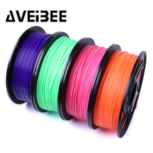 цены AVEIBEE 3D printer filament pla 1.75mm 1kg plastic Rubber Consumables Materials with 28 kinds colours supply you choose