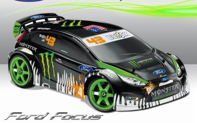 1 10 Scale Rc On Road Race Touring Drift Car Ford Focus Pc201004b 1