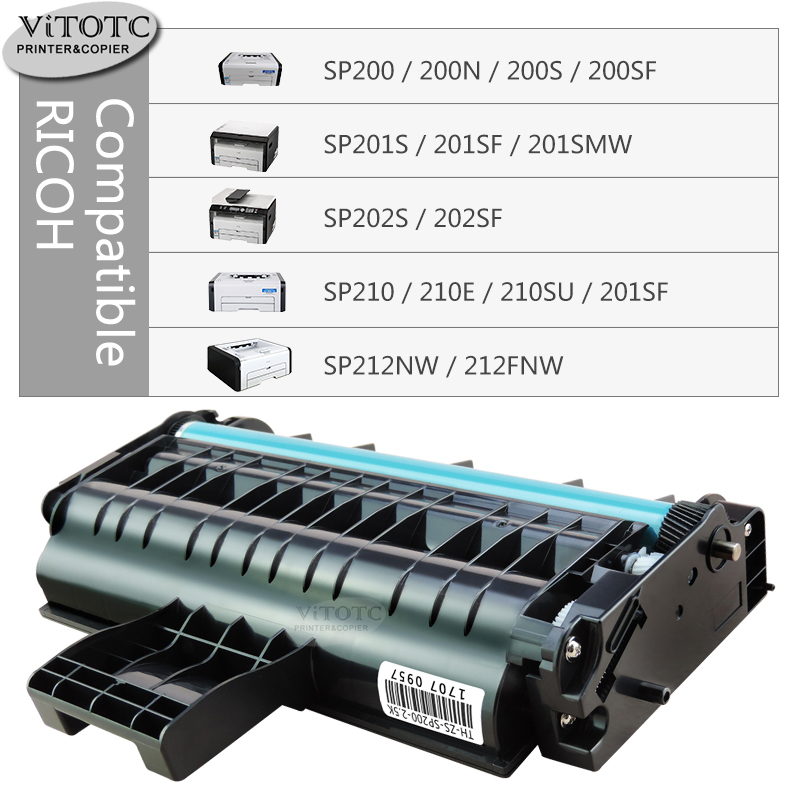 SP214 Printers SP213 For Ricoh SP201 Supply Spot offers Compatible 407259 Toners 3 Pack SP203 SP204