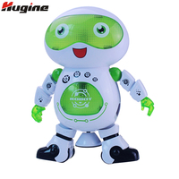 Smart Robert Intelligent Dancing Walk Space Dancing Robots Electronic Toys With Music Light Effect Gift For