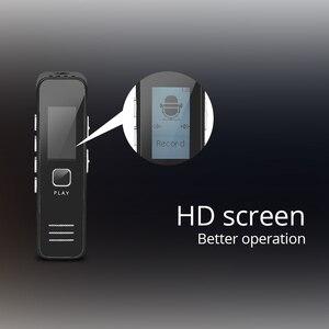 Image 2 - TISHRIC 16GB Digital Voice/Sound/Audio Recorder Usb Diktiergerät Pen Professionelle 20HR 10M MP3 WMA U Stick HD Screen Display