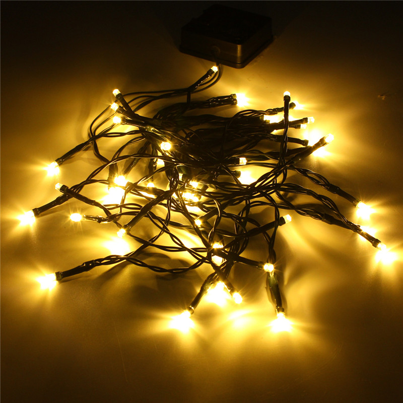 5.2M Colorful Fairy Light Solar Powered 50 LED String Light 1.5W Led Outdoor Light Yard Garden Path Chirstmas Party Decor Lamp