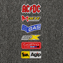 Moto raccessory PVC Reflective Stickers  for acdc ngk ohlins  arai  gas Decal ngk farm stickers
