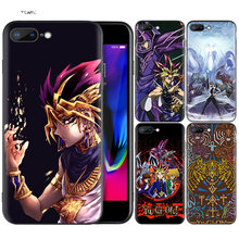Silicone Case Shell Coque for iPhone 7 8 6 6S Plus X XS MAX XR 5C 5 5S SE 7Plus 8Plus 7+ 8+ Yu GI OH(China)