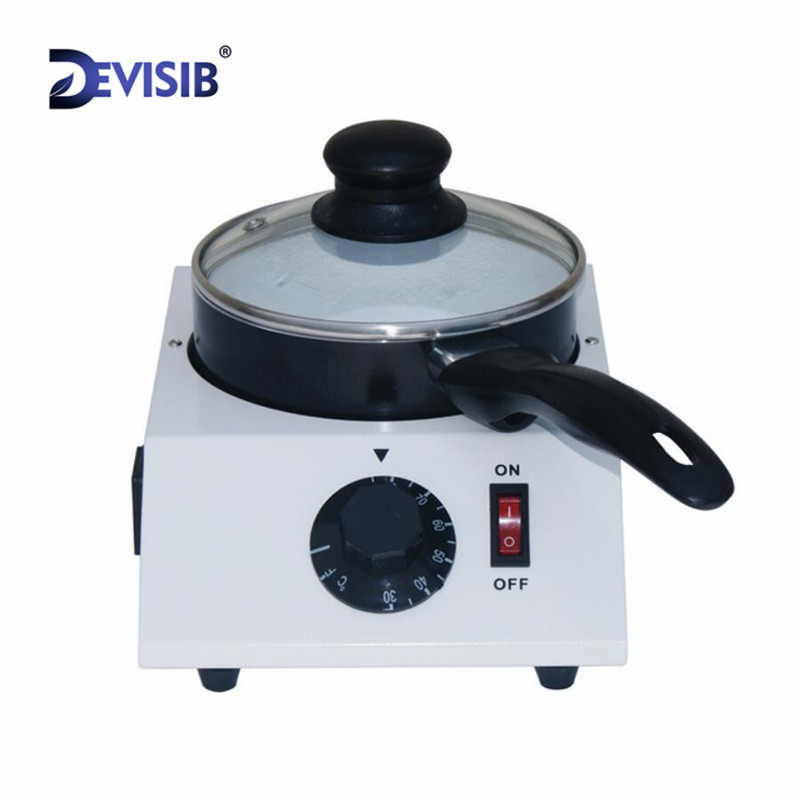 DEVISIB 1KG Chocolate Melting Machine Candy Melt Pot Paraffin Wax Machine Temperature Control Wax Heater
