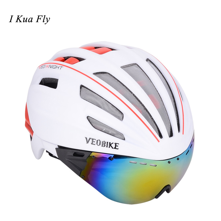 New Goggles Cycling Helmet Insect Net Road Mountain MTB Bike Bicycle Helmet With Lens 28 Air Vent Helmet Bike Casco Ciclismo z4 rockbros cycling helmet men women breathable 32 air vents goggles mtb road bicycle bike helmet with 3 pair lens casco ciclismo