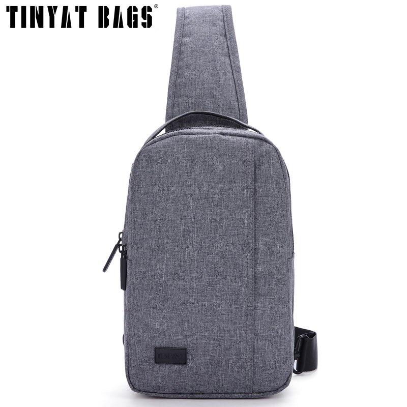 Tinyat erkekler çanta su geçirmez omuz sapan çanta paketi tasarım - Çanta - Fotoğraf 3