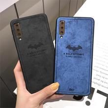 Летучей мыши матерчатый чехол для Huawei P30 P20 Pro P20 Lite P10 Mate 20 10 Nova 4 3 3i Honor 10 9 8 7C 8X 7X кожаный чехол+ силиконовый чехол для телефона