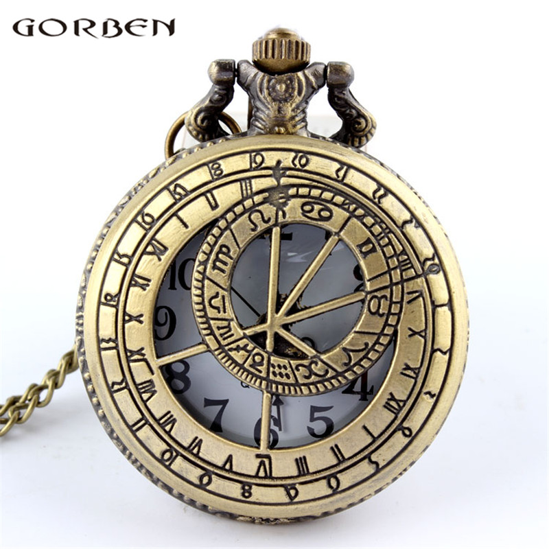 2017 New Arrival Hollow Doctor Who Pocket Round Watch With Chain Necklace Best Gift Retro Men Woman Pocket Watches Pendant P218