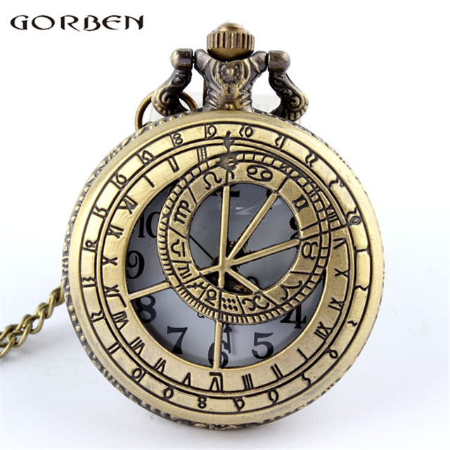 2017 New Arrival Hollow Doctor Who Pocket Round Watch With Chain Necklace Best G