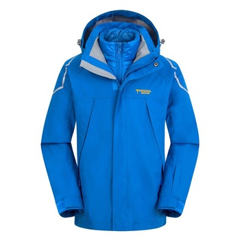 Waterproof Index 15000mm Warm Child Coat Windproof Boys Girls Jackets Sporty Kids Clothes Double-deck For 5-14 Years Old Winter Outwear & Coats