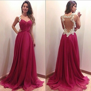 Vestido largo barato boda