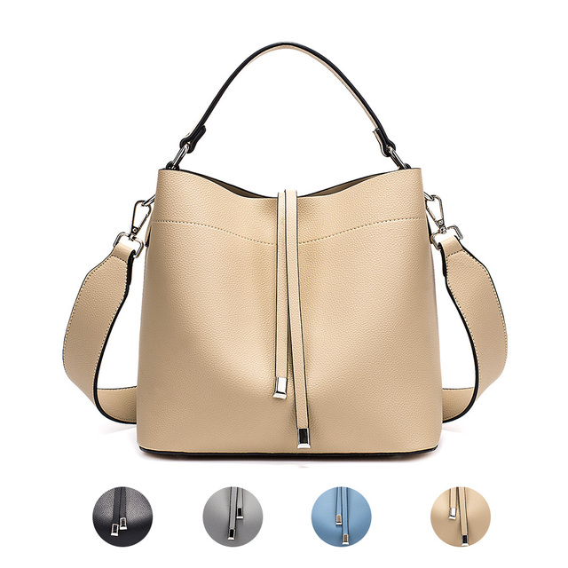 Miyaco Fashion Handbags Women PU Leather Bags Ladies Bucket Bag Totes Shoulder Bags Messenger bag New Style 2018 5