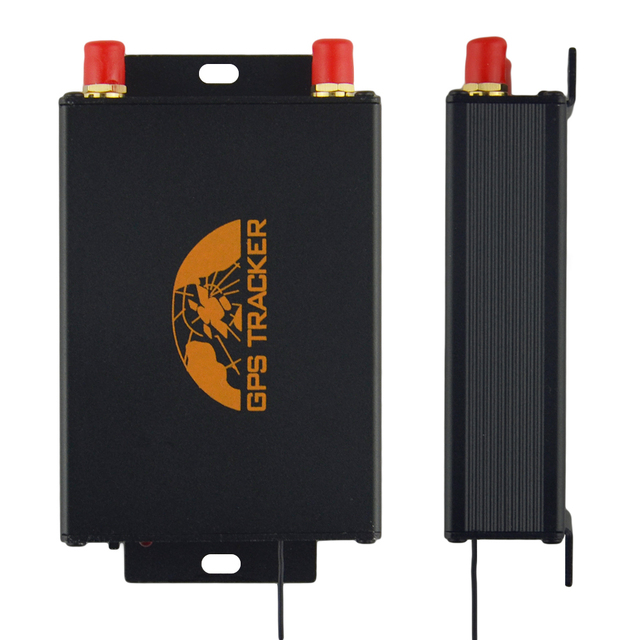 Car GPS Tracker GPS105B Locator TK105B Tracking Device Remote Controller Dual SIM Slot Optional Camera / Fuel Cut Off 100% Coban