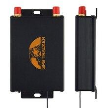 Автомобильный GPS трекер, GPS локатор 105B TK105B устройство слежения с пультом дистанционного управления с двумя слотами для sim карт, Опциональная камера/отключение топлива 100% Кобан