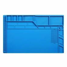 Теплоизоляция силиконовые пайки Pad Ремонт платформы обслуживания стол коврик PC phone ремонт коврик Магнитная 25*35 30*45 35*55 см