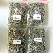 Matériaux de laboratoire dentaire, 1000 pièces, 4 modèles de 22mm,20mm,18mm,16mm broches simples pour le travail du modèle à mourir