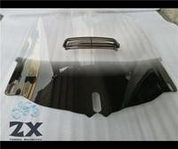 Мотоциклетное ветровое стекло с козырек отверстие для Honda Goldwing 1800 GL GL1800 2001 2013 Обтекатели Clear
