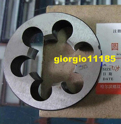 37mm 37 x 1.0 Metric Right Hand Die M37 x 1mm Pitch 48mm x 1 metric right hand die m48 x 1 0mm pitch