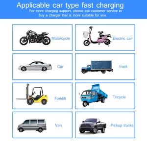 Image 5 - Automatic Intelligent Pulses Repair 130V 250V 12V 24V LCD Display Li ion Battery Charger Fast Charging Car Motorcycle AJ 618F