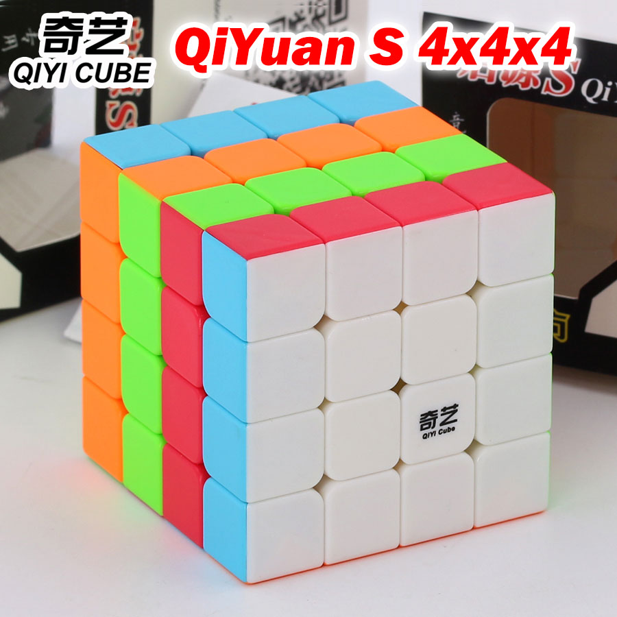 Puzzle Magic Cube QIYI QiYuan S 4*4*4 4x4x4 444 Professional Speed Cube Logic game educational toys gift champion competition image