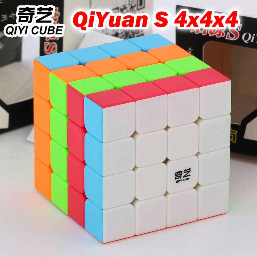 パズルマジックキューブ qiyi qiyuan s 4*4*4 4 × 4 × 4 444 プロのスピードキューブロジックゲーム知育玩具ギフトチャンピオン競争