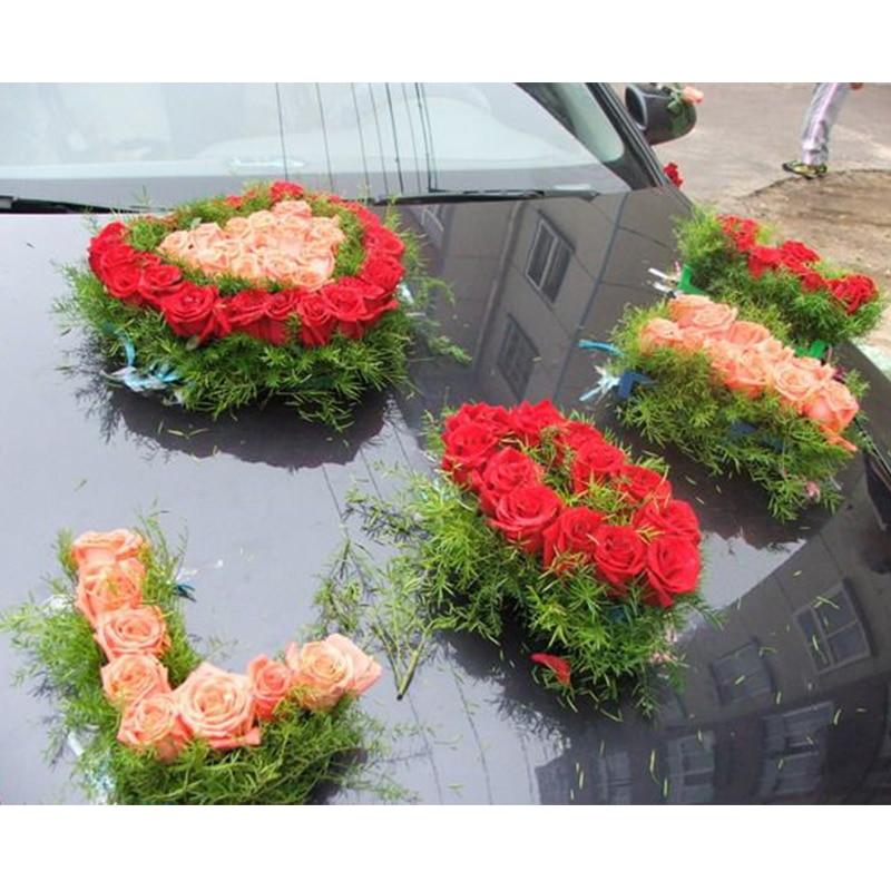 2018 New Design Letter Love Floral Foam Bridal Bouquet Handle Flower ...