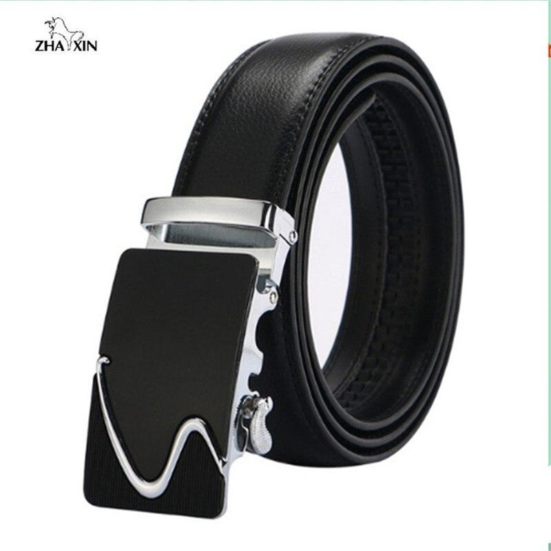 100% nuevos cinturones de cuero genuino 2018 de moda para hombres de alta  calidad de be503c6fe50f