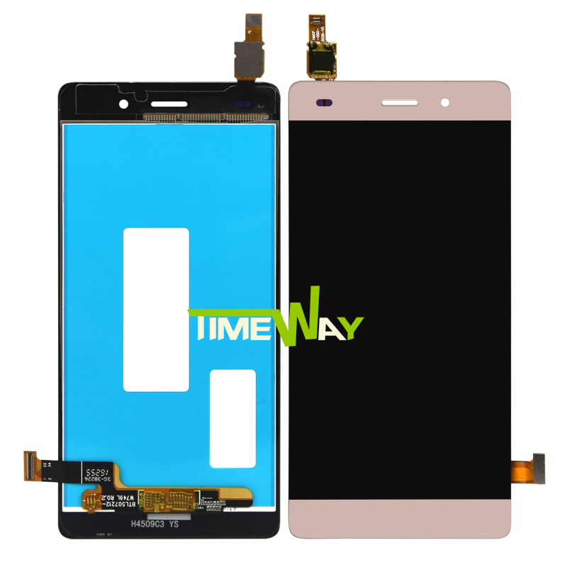 10pcs DHL LCD Display + Touch Screen Original Digitizer Assembly For Huawei P8 Lite Replacement replacement original touch screen lcd display assembly framefor huawei ascend p7 freeshipping