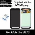 High Quality LCD for Samsung Galaxy S5 Active LCD G870 G870A LCD Display Screen Digitizer Assembly Black/Gray/Green/Red Replace