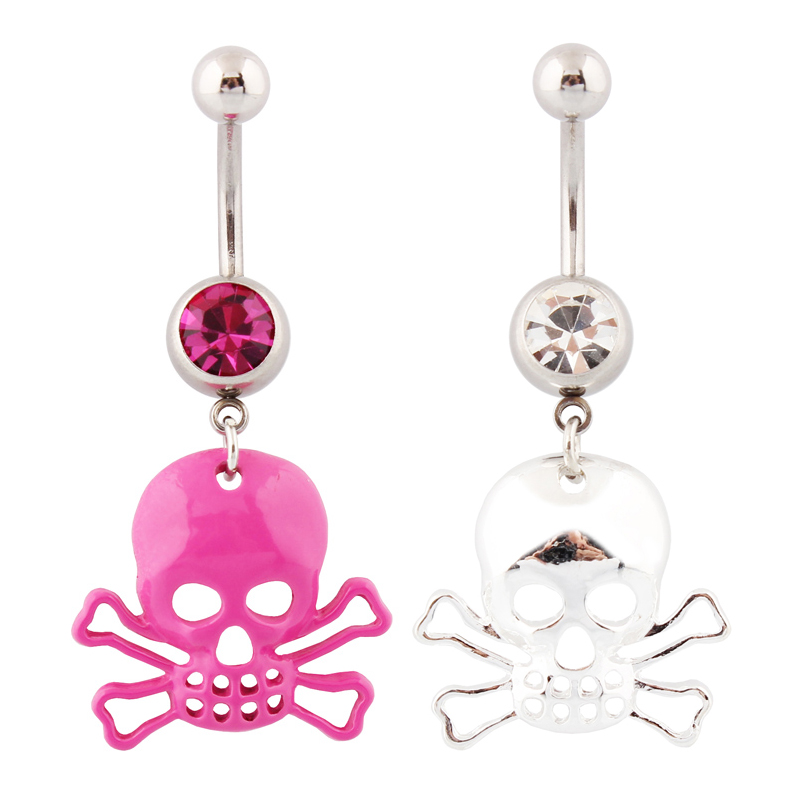 jewelry navel rings skull belly button rings kito
