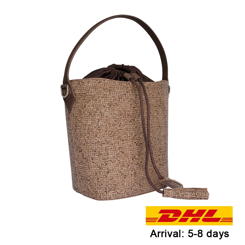 KAOGE Natural Vegan cork bag Female Handmade Luxury Handbags Women Bags Designer Shoulder Bags Women Hand Bag waterproof baobao