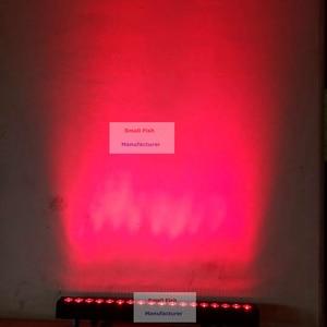 Image 4 - 2 uds DMX Bar Light 18X18W RGBWA UV 6 en 1 LED Wash Wall Lights DMX512 lavadora/luz de inundación DJ /Bar/fiesta/espectáculo/luz de efecto de escenario