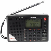 PL 380 Portable Wireless Full Band Digital Demodulation Stereo FM Radio Suitable for Seniors / Students Supporting ETM Function