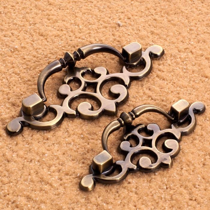 5pcs vintage door knobs european antique furniture kitchen cabinet dresser drawer handles bronze colorchina - Vintage Door Knobs