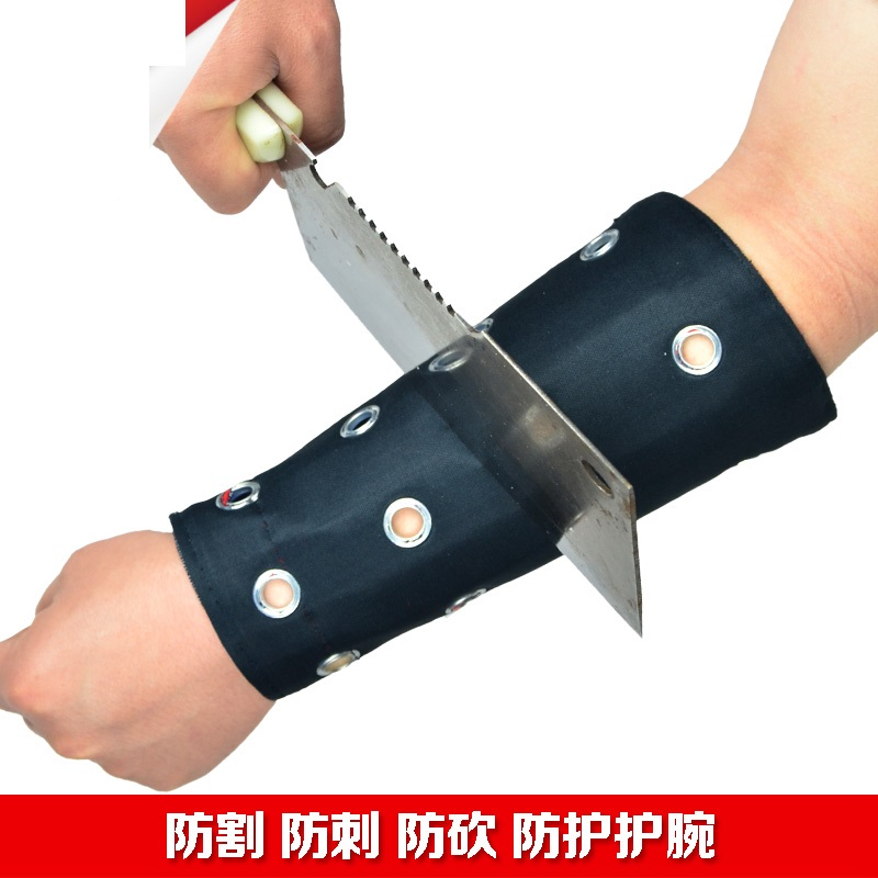 Genuine anti cutting arm shield font b knife b font wrist anti cut elbow security protection