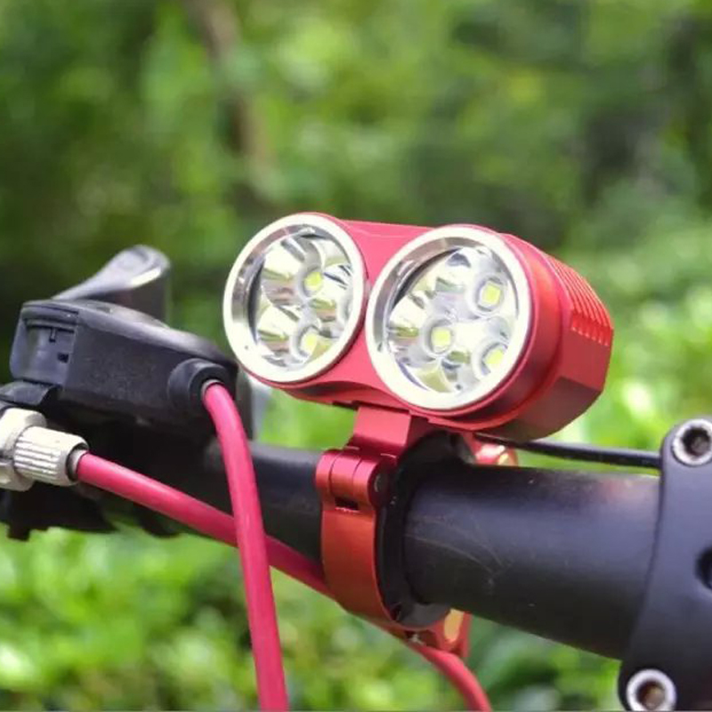 6000 Lumens Led Bike Light 6 x XML-T6 Bicycle Front Light Mountain Cycling Lamp Frame Spotlight With 8.4v 6800mAh Battery Pack sitemap 58 xml