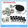 3d printer reprap i3 beweging kit GT2 poelie 608zz lager lm8uu 624zz lager & 5*5 of 5*8 koppeling as VVV000059