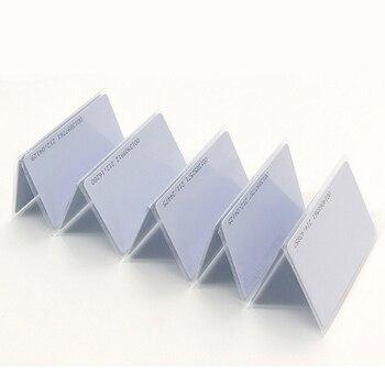 100pcs RFID Cards 125KHz EM4100 TK4100 Smart Card Proximity RFID Tag for Access control 1