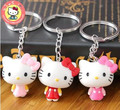 NEW CUTE DESIGN CARTOON HELLO KITTY EXTREMELY KEYCHAIN KEY CHAIN KEY RING FOR BAG CHARMS CAR PENDANTS NOVELTY PRODUCT GREAT GIFT