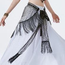 2019 Belly Dance Belt Hip Scarf Tribal Style Long Tassel Fringe For Women Bellydance Costume Accessories Adult