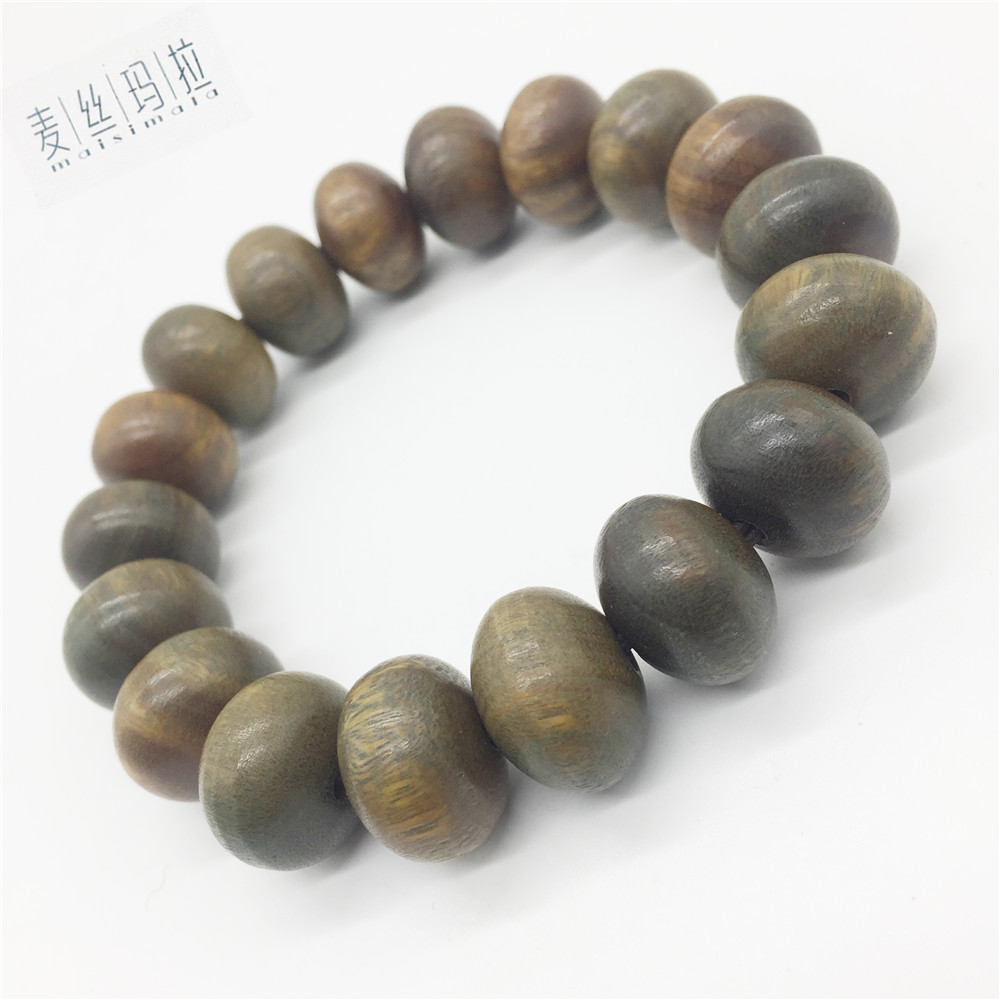 Length Custom Skretch Natural Color Wooden Bracelets For Men 2018 Fashion New Making Jewellery Brand Craft Diy Jewelry