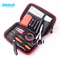 Glotech newest vape DIY tools kits coil jig ceramic tweezers wire coiling tools for E cigarette RBA RDA Atomizers DIY vaporizer
