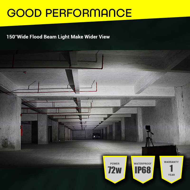 Image 5 - JSLMin Led Bar 4 inch LED Work Light Bar 72W Spot Beam 12V 24V Off Road ATV UTV UAZ UTE Motorbike Boat Worklight Driving Lights-in Light Bar/Work Light from Automobiles & Motorcycles