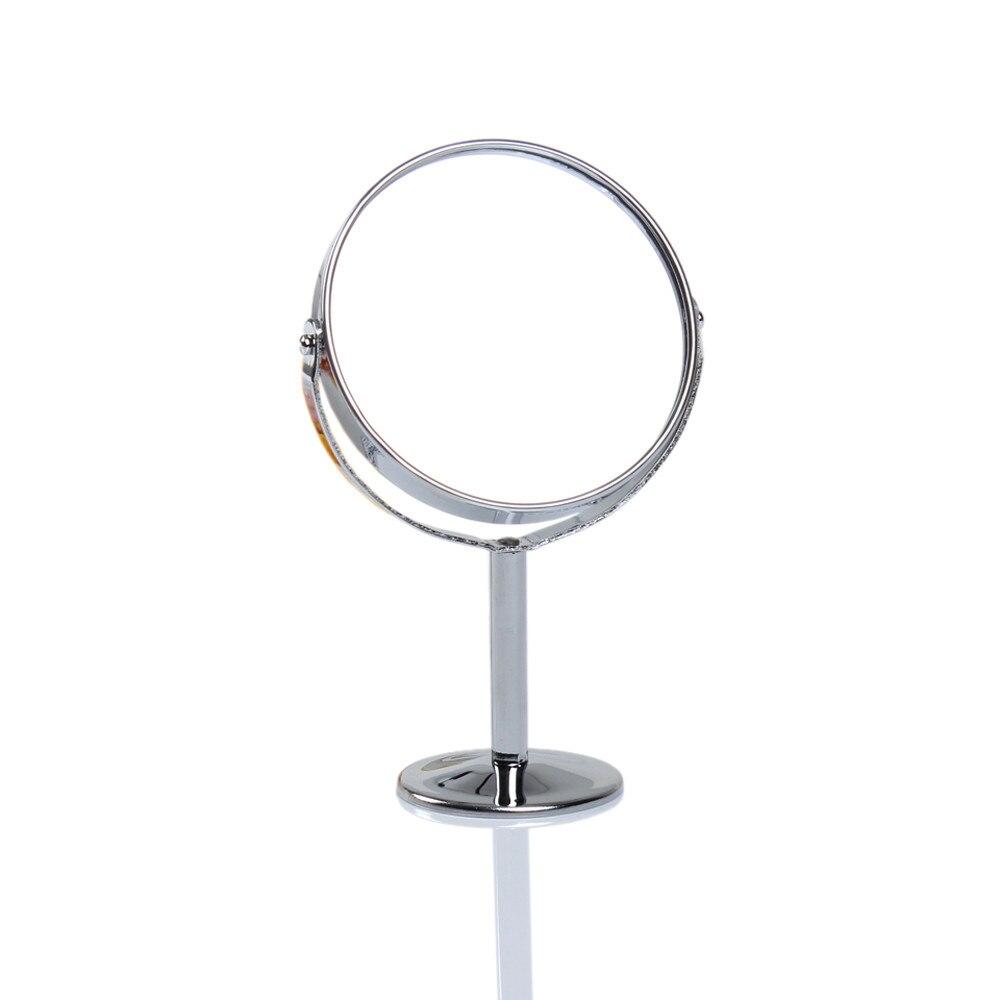 Schminkspiegel Niedrigerer Preis Mit Doppelseitige Schönheit Make-up Kosmetik Spiegel Mit Beleuchtung Normalen Und Vergrößerungs Stehen Spiegel Espelho Espejo De Maquillaje #9