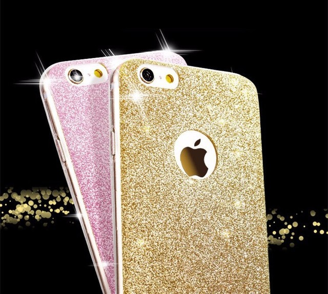 Diamond Flash Glitter Tpu Cute Candy Cover Phone Case For Iphone 6 Case Soft Silicone For Iphone 6s Cases 6 Plus 5 5s Case